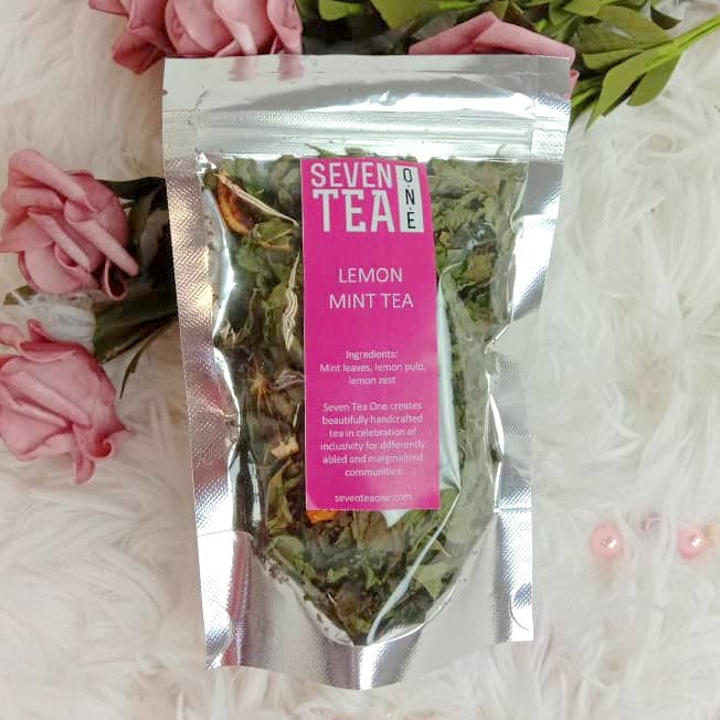 Seven Tea One Lemon Mint Tea (10g)