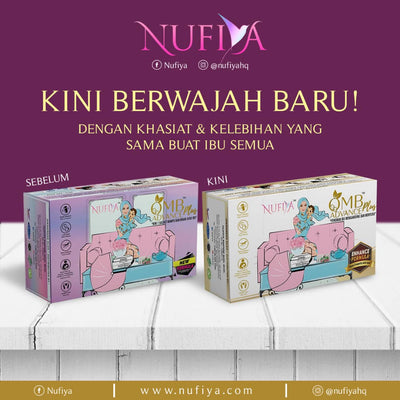 Nufiya Organic Milk Booster Advance Plus + Free Storage Bag