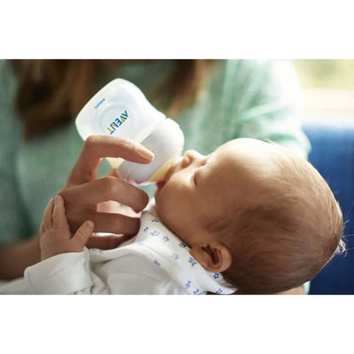 Philips Avent Natural Baby Bottle 125ml (White) Twin Pack