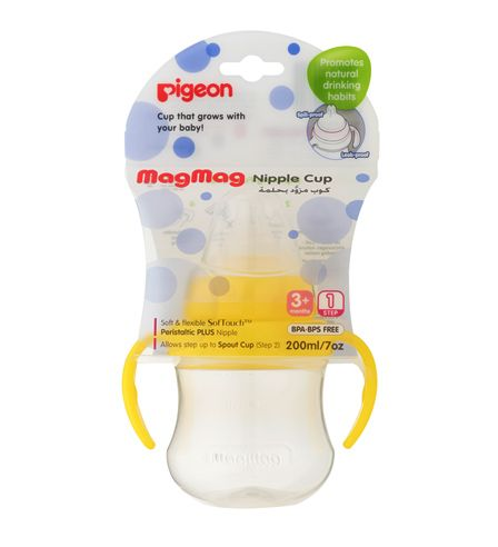 Pigeon MagMag Nipple Cup Step 1 (200ml)