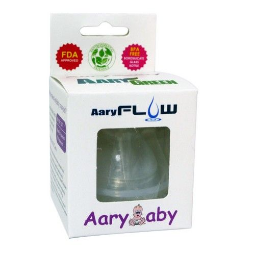 Aarygreen Aaryflow Wide Neck Teat (2pcs)
