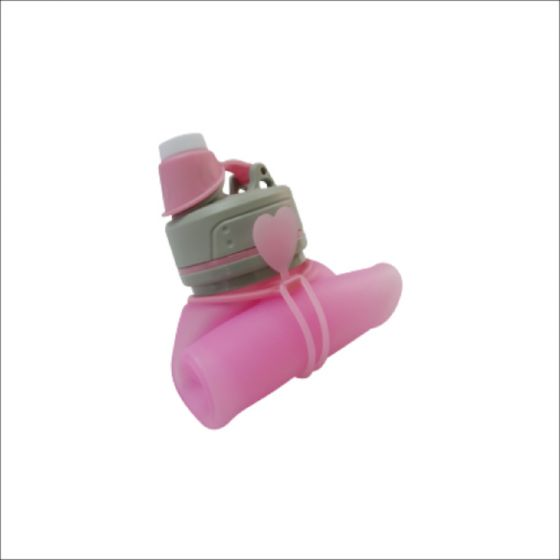 Aarygreen AaryH2O Foldable Silicone Bottle 500ml