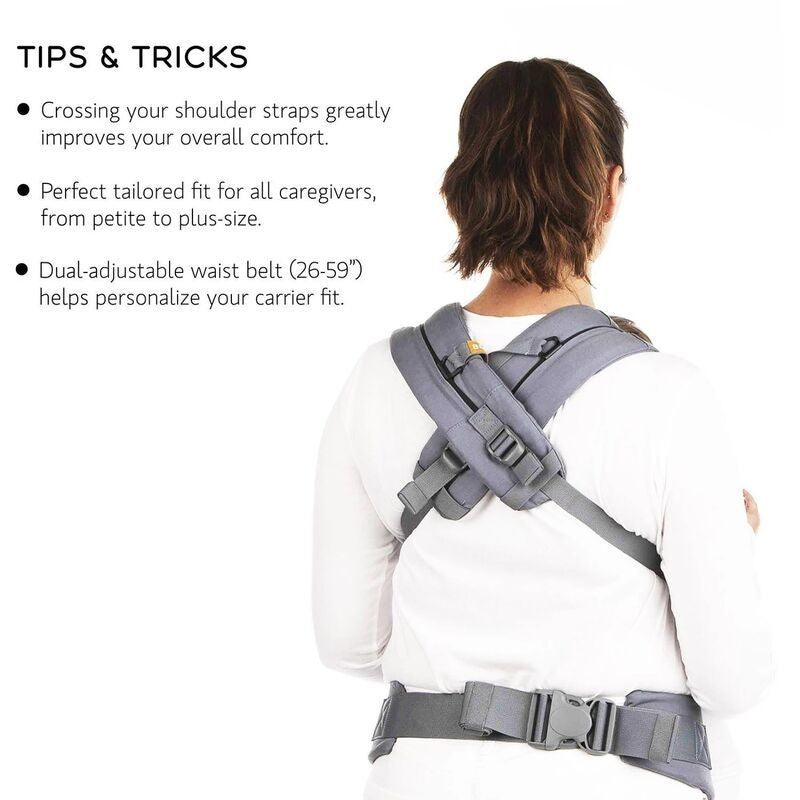 [Promo Code: FM4.4] Beco Gemini Baby Carrier (Scribble Too) + FREE Baby Wipes 30s