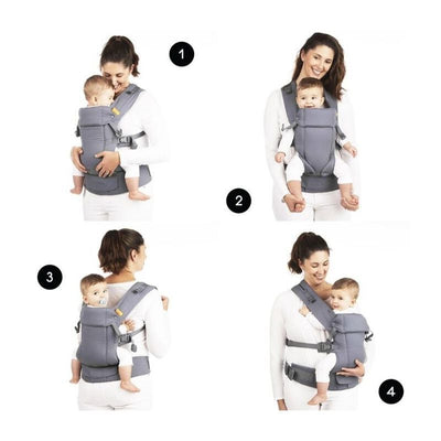 Beco Gemini Baby Carrier (Scribble Too)  + FREE GIFTS