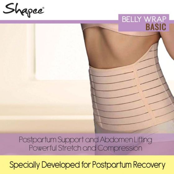 Shapee Belly Wrap Basic (Nude)