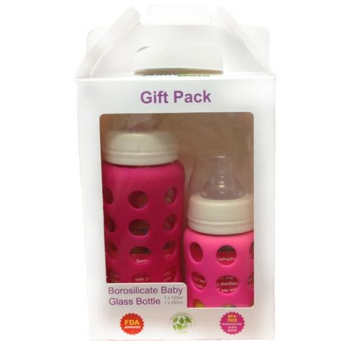 AaryGreen Gift Pack Glass Bottle (260ml + 125ml)
