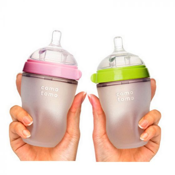 Comotomo 250ml Silicone Bottle