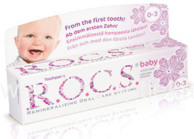 R.O.C.S. Baby Mild Care Toothpaste (Lindent)