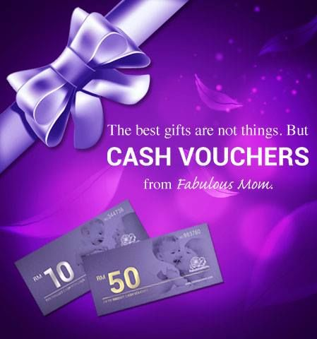Fabulous Mom RM50 Cash Voucher