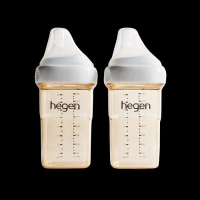 Hegen PPSU Bottle Twin Pack 240ml/8oz