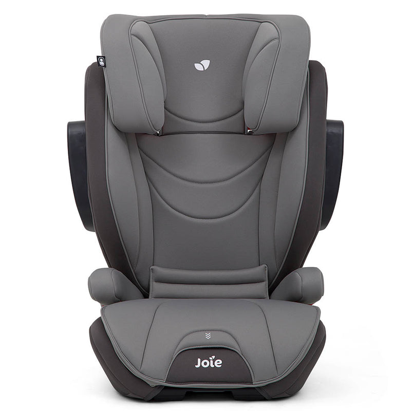 Joie Traver Isosafe Booster Car Seat [Coal/Dark Pewter] [1 Year Warranty]