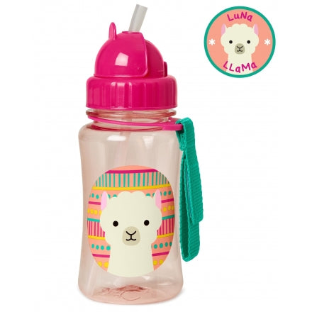 Skip Hop Zoo Straw Bottle (350ml) [Assorted]