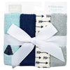 Luvable Friends 4pc Wash Cloth Woven Terry (Assorted)