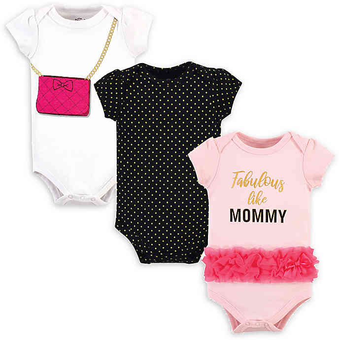 Luvable Friends Bodysuit 3pk (Fabulous Like Mommy)