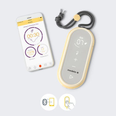 Medela Freestyle Flex Rechargeable Breast Pump + FREE Silicone Hands free Cups[ 2 Years Service Warranty ]