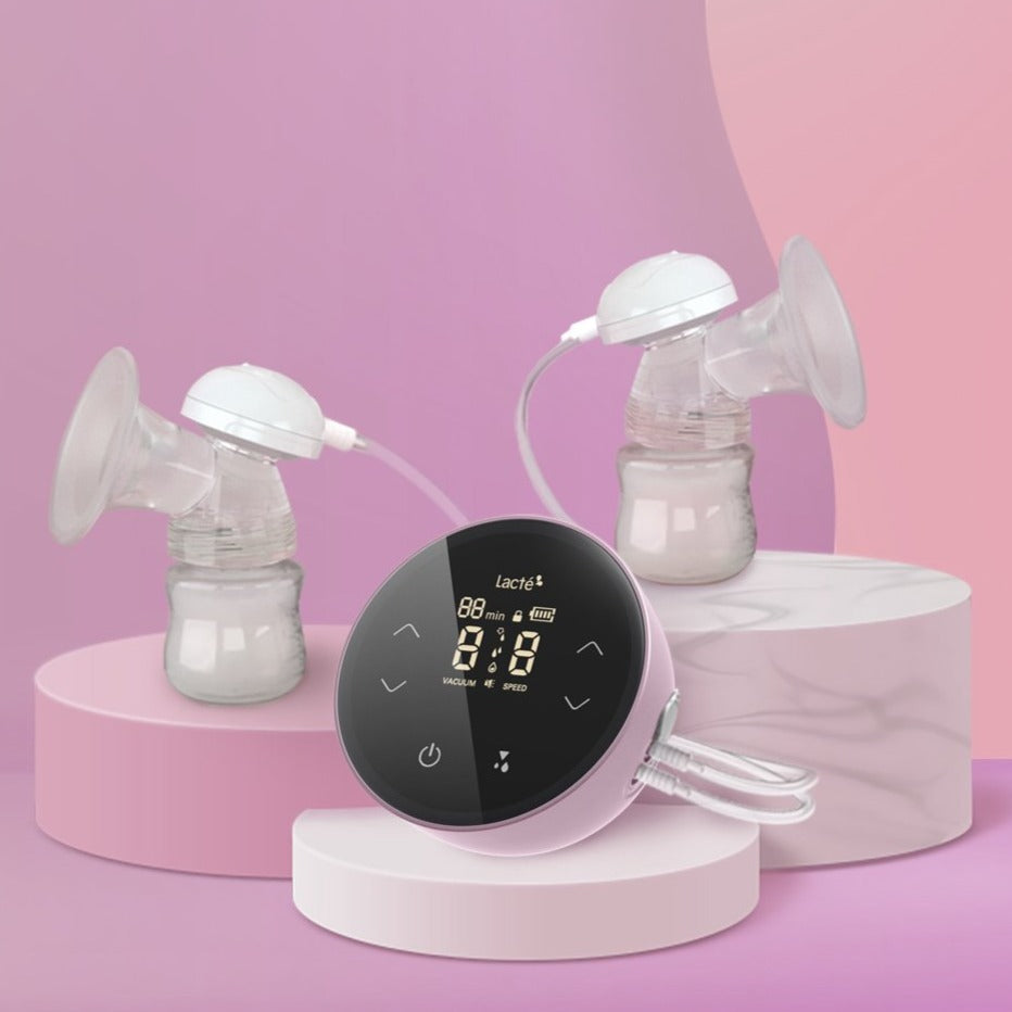 [NEW!] Lacte Duet Omnia Pro Rechargeable Electric Breast Pump  [2 Years Warranty]