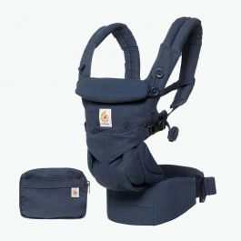 Ergo Baby Carrier Omni 360 (Midnight Blue) + FREE Chewie Pad