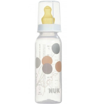 NUK- Classic Standard PP Btl 240ml (BPA Free) with Latex Teat Size 2M