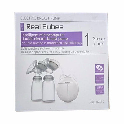 Real Bubee Electric Double Breast Pump + Extra Free Gifts
