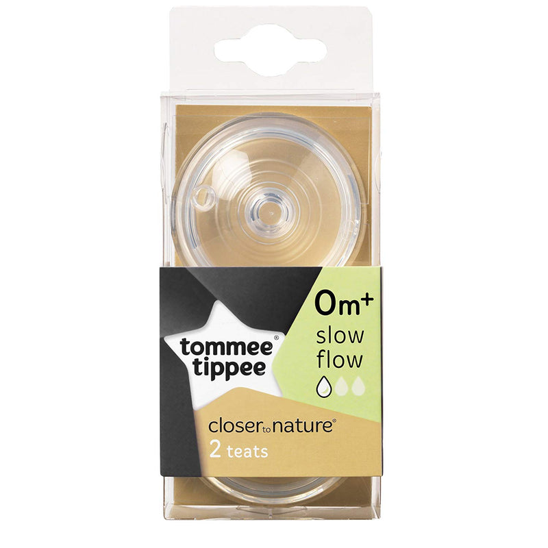Tommee Tippee  Closer To Nature Bottle Teat  Slow Flow