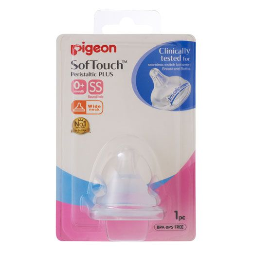Pigeon Soft Touch Peristaltic Plus Nipple [ Assorted ]