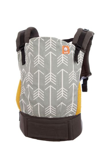 [Promo Code: FM4.4] Tula Standard Canvas Baby Carrier (Archer) + FREE Baby Wipes 30s
