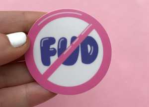 NO FUD Cryptocurrency Sticker