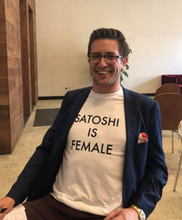 Be a Feminist SATOSHI IS FEMALE Shirt