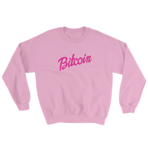 Vintage Bitcoin Barbie Doll Sweatshirt (unisex)