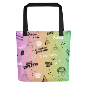 To The Moon Feminist Totebag