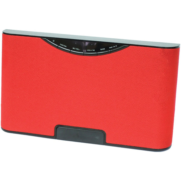 SYLVANIA SP5686-RED USB Bluetooth Wireless Speaker (Red)