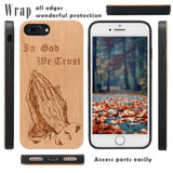 In God We Trust Religious Wooden Case by iProducts US