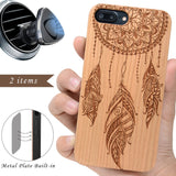 Cherry Wood Dream Catcher by iProducts US
