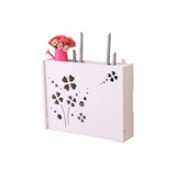Practical WiFi Router Storage Boxes, Lucky Clover,