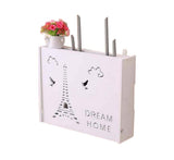 Practical WiFi Router Storage Boxes, Iron Tower