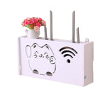 WiFi Router Storage Boxes Organizer (Lucky Cat)