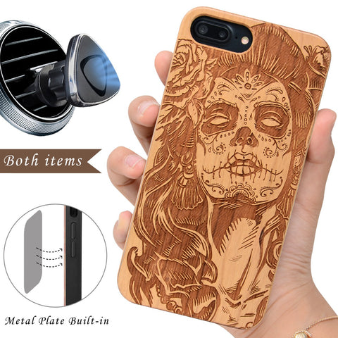 Day of the Dead Skull Lady by iProducts US