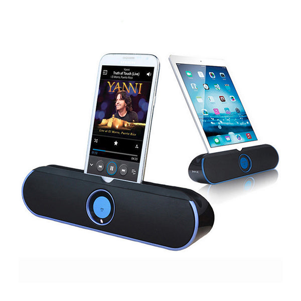 Portable Wireless Bluetooth Stereo Speaker with Adjustable Stand