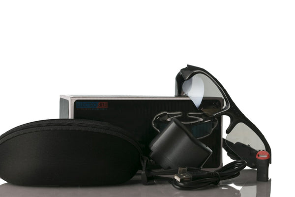iSee Spy Sun Glasses Hidden Camera Wireless Hands Free
