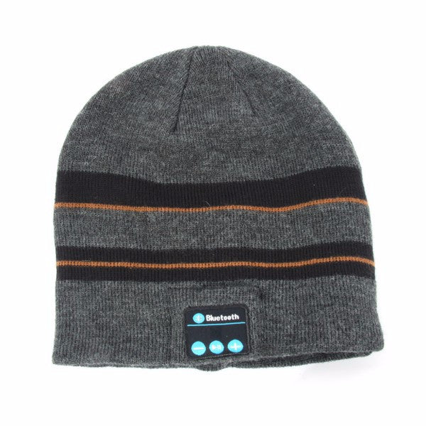 Talking Beanie Headset with Wireless Bluetooth for Smartphone