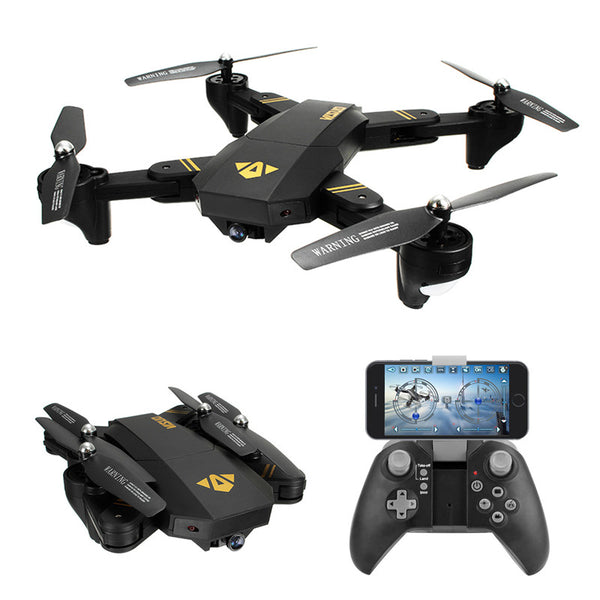 Foldable WiFi Arm FPV Quadcopter With 2MP 0.3MP Camera
