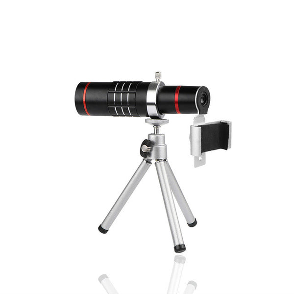Telescope Phone Camera Lens with Tripod