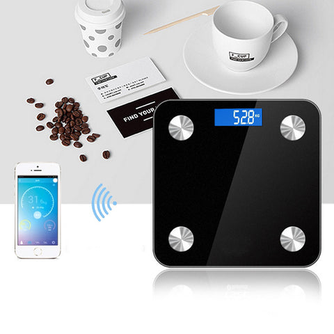 Bluetooth Digital Scale with LED Display