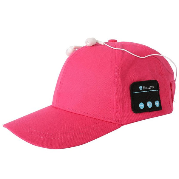 Bluetooth Enabled Adjustable Ball Cap