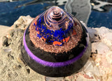 Shungite Orgone EMF Protection Dome ~ Ground and Protect Orgone Crystal Healing Generator