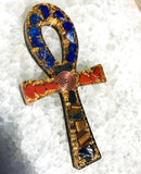 SPECIAL! Orgone Ankh with Shungite ~ Violet Flame Orgone ~ 24K Ankh