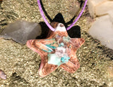 Small Orgone Pendant ~ Crystal Star Necklace