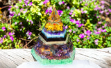 Large Orgone Pyramid ~ Manifestation Crystals to Support Abundance