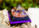 Shungite EMF Protection Orgone Pyramid / Pure Protection