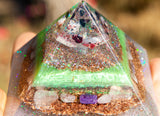 Heart Chakra Orgone Pyramid | Open to Love